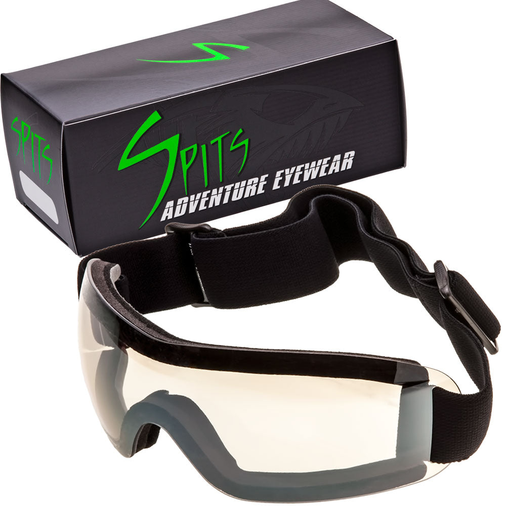 FLARE III Goggles - Advanced System Venting - Vented EVA Foam Padding - Vented Upper Frame - FREE Cleaning/Storage Pouch