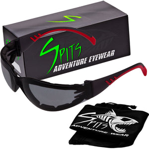 FLYZ Wrap Safety Glasses Various Frame and Foam Padding Options