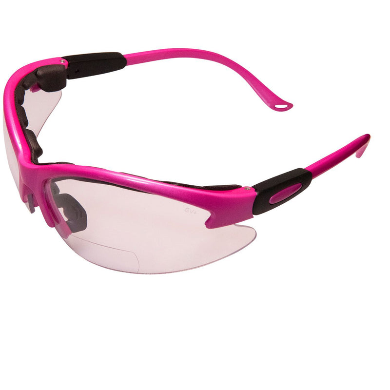 Cougar Foam Padded Bifocal Safety Glasses 21 Frame Color Options  (Magnifier 1.00, 1.25, 1.50, 1.75)