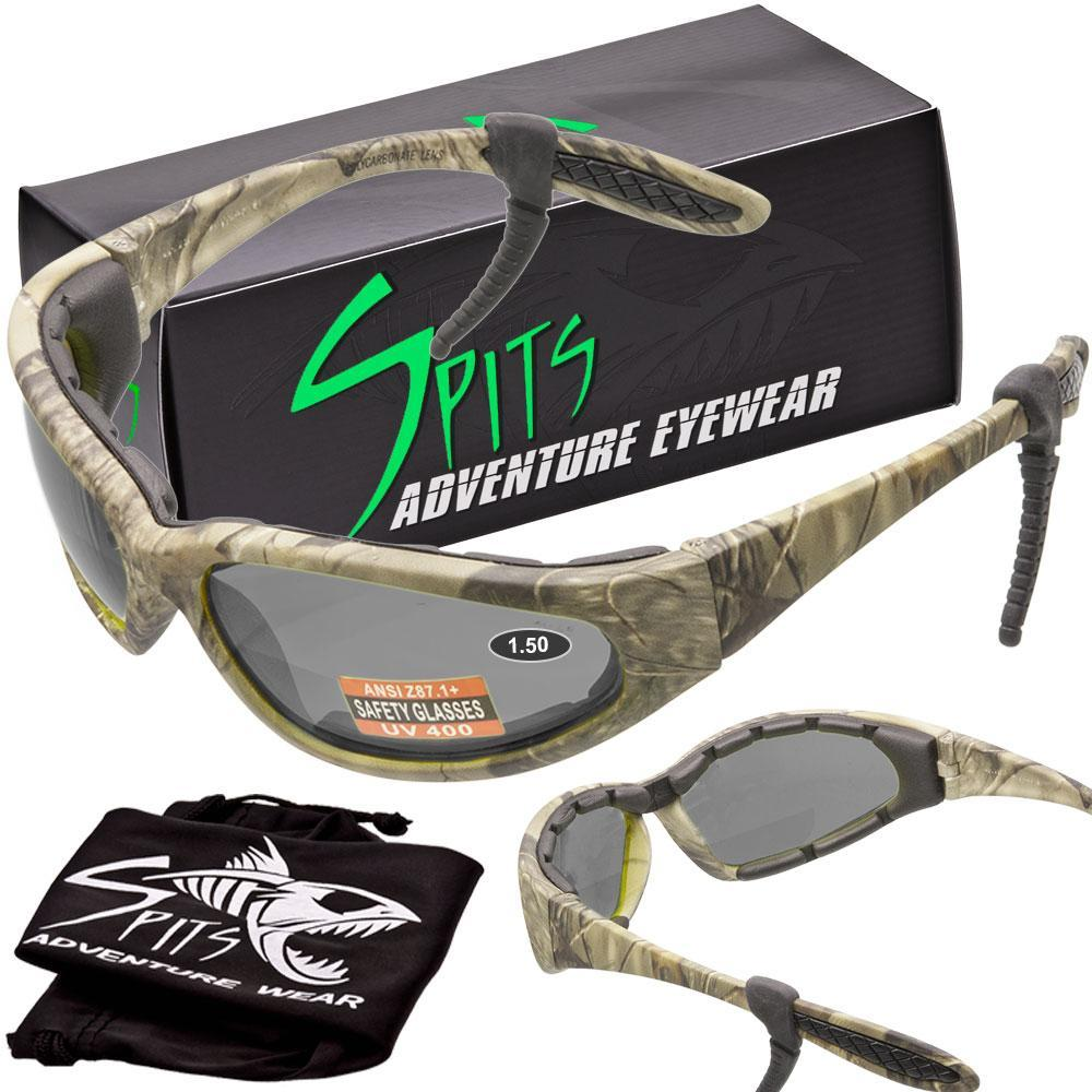 Hercules Bifocal Safety Glasses with Camo Frame Options