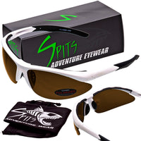 Maui Polarized Sunglasses Options - Gray, Yellow, Mirrored and Photochromatic Polarized Lenses