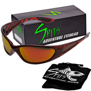Killer Polarized Sunglasses with G-Tech Colored Mirror Lenses and Foam Padding Options