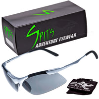 Laser Metal Frame Premium Sunglasses - Safety Glasses Colored Mirror Lens Options