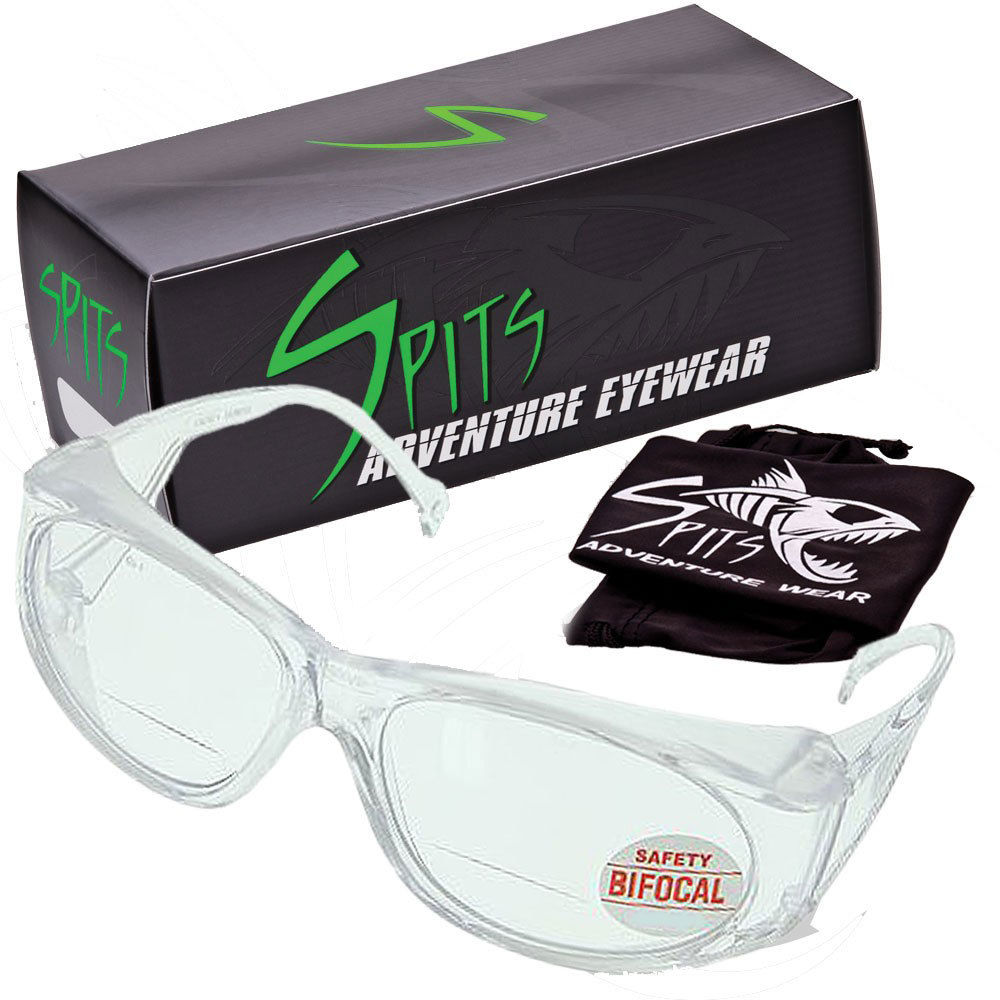 Mag-Safe Bifocal Safety Glasses, ANSI Z87.1+ compliant