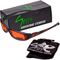 New Attitude Splash Orange Various Lens Color Options