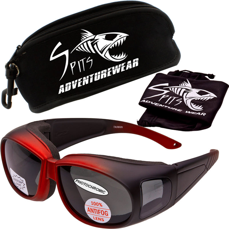 Outfitter Over Glasses Safety Glasses Foam Padded Sunglasses Various Lens Options