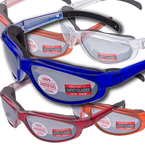 "PAGOS Foam Padded ""Safety Glasses"""