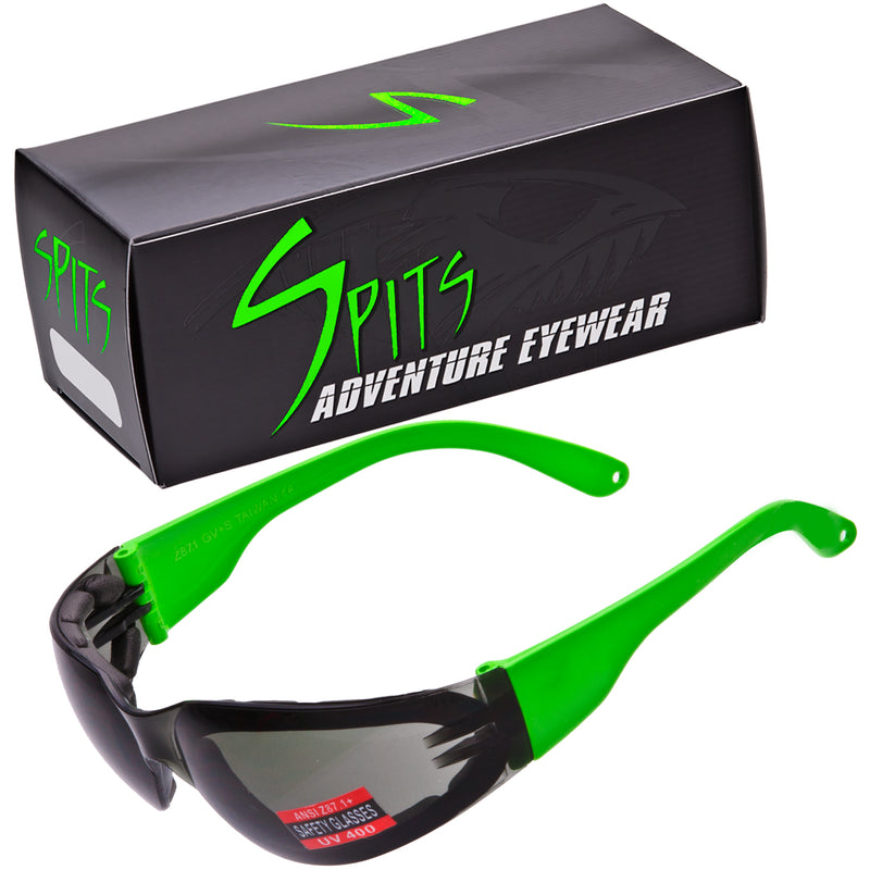 Rider Neon Safety Glasses Various Lens and Frame Options
