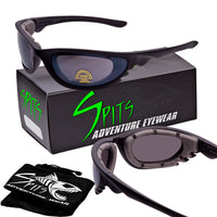 Ridgeline Foam Padded Motorcycle Sunglasses Various Frame and Lens Options