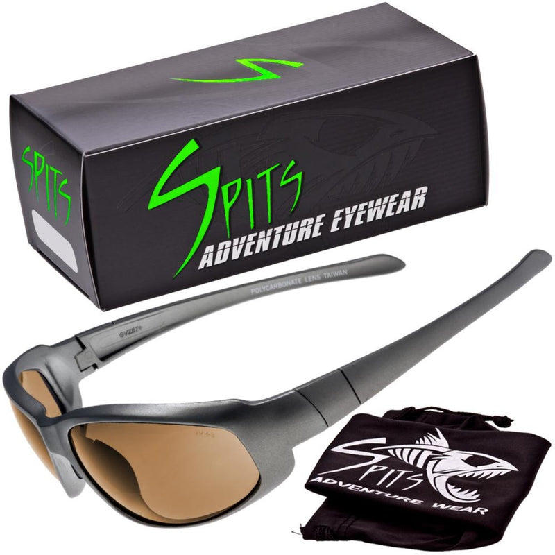 Sniper Gray -  Safety Rated Sunglasses Various Lens Colors, Photochromic and Foam Padding Options