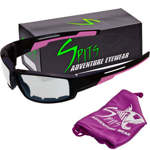 Strike - Foam Padded Sunglasses Various Lens and Frame Color Options