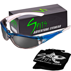 Sideslip Foam Padded Motorcycle Sunglasses Various Frame and Lens Options