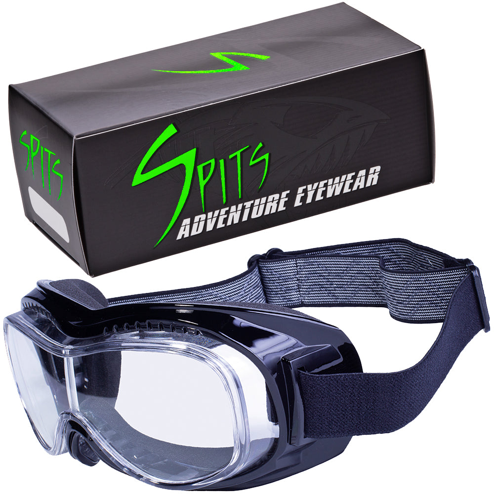 Tach-1 Goggles Fits over prescription eyewear