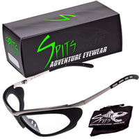 Thunder Metal Wrap Sports Safety Glasses ANSI Z87.1 OSHA Compliant