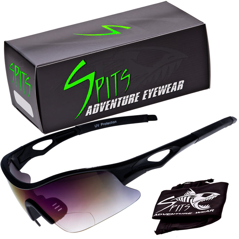 Time Trial Bifocal Magnifying Running Cycling Sunglasses Frame Color Options