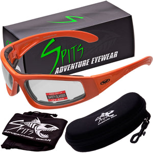 TRIUMP Foam Padded Motorcycle Sunglasses Various Frame and Lens Options