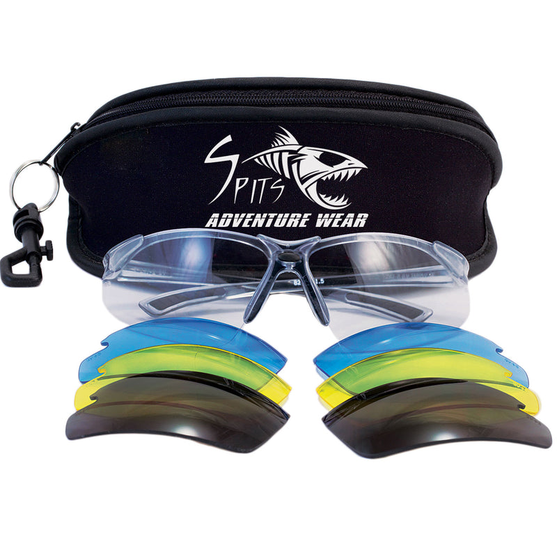 Thresher Running/Cycling Safety Glasses Z87.1 Sunglasses Lens Kit