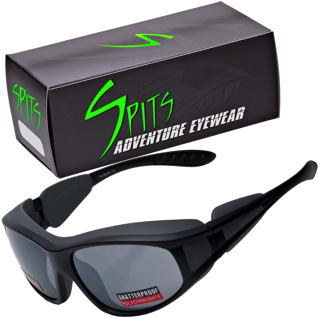 Torque Sunglasses with Light Blocking Rubberized Side Shields