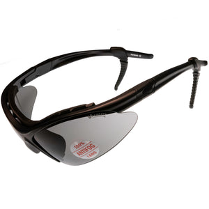 Velocity Sports Wrap Sunglasses Vented Neoprene Brow Foam