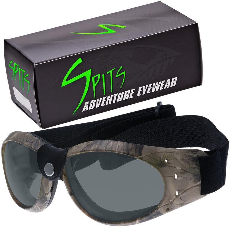 Eliminator Pine Camo Frame Foam Padded Motorcycle Goggles