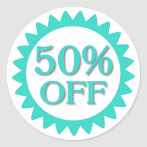 50% OFF Items