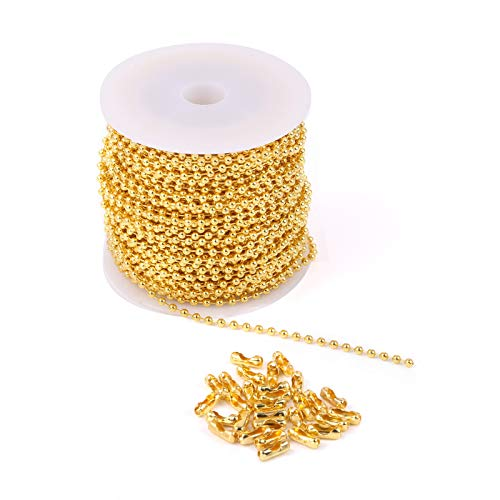 48 FT Stainless Steel Bead Ball Chain Roll