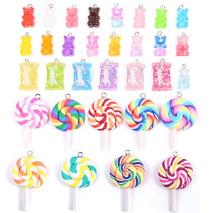 32 Pack Charms Candy Pendants
