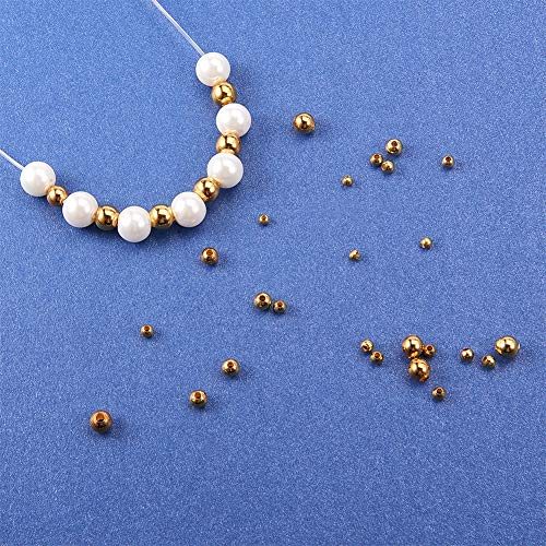 Stainless Steel Loose Beads (Extra Large Hole)
