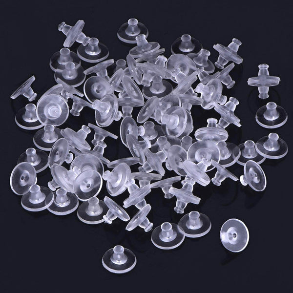 300PCS Soft Earring Backs