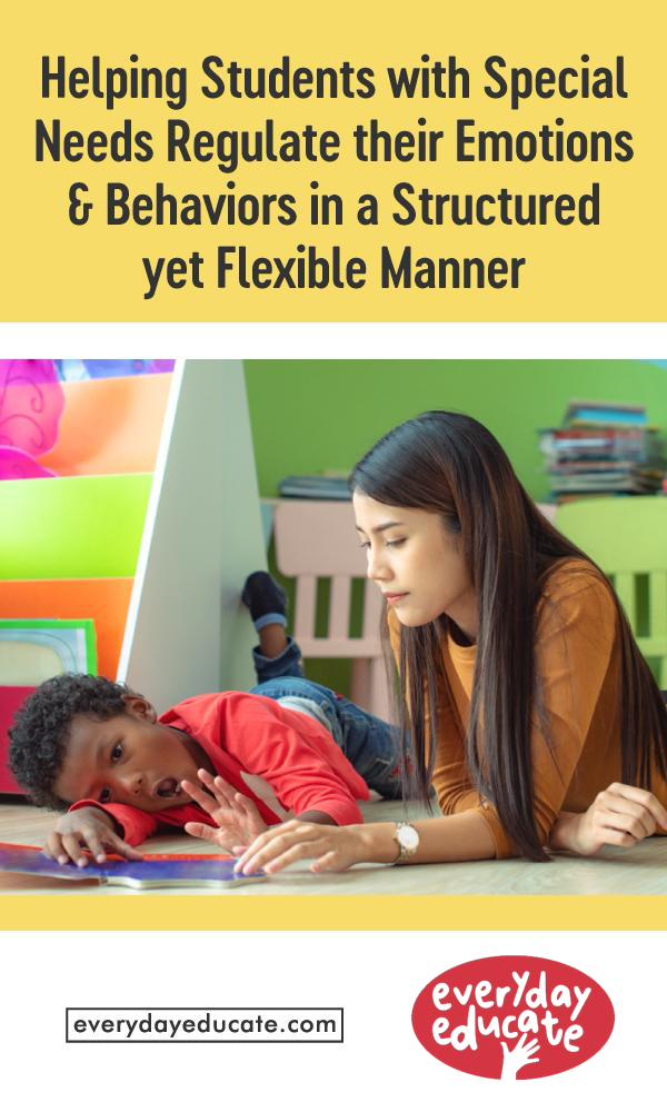 Helping Students with Special Needs Regulate their Emotions and Behaviors in a Structured yet Flexible Manner
