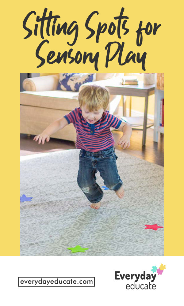 Sitting Spots for Sensory Play!