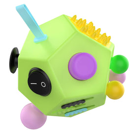 12 Sided Educational Fidget Cube Hexagon