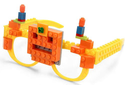 Building Brick Glasses (Set of 2)