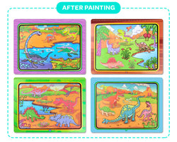 Everyday Educate Water-Pop-Paint™ Coloring Book - Water Activity Pad for Kids!