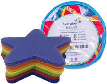 "Everyday Educate Carpet Markers Sitting Spots - Amazing Classroom Supply, Flexible Seating - 5"" Diameter (30 Stars) - Makes Great Teacher Gift"