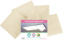 Cozy Covers! Light Covers for Classroom or Office - Set of 4 - Off White