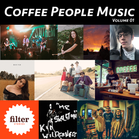 Coffee People Music / Volume 01 Album Artwork
