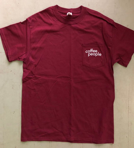 Coffee People Pocket Tee