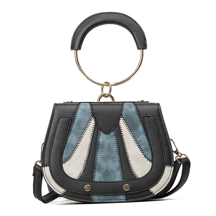Stitch Detail Crossbody Bag