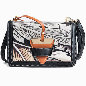 Tropical Print Crossbody