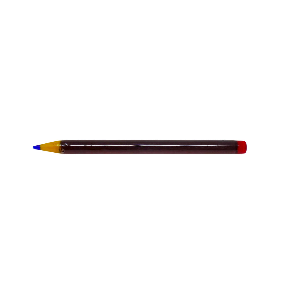 Pencil Dabber - Brown/Red - Mary Jane Glass Gallery