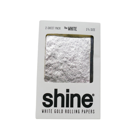Shine® White Rolling Papers - 1 1/4 (2 Pack) - Mary Jane Glass Gallery