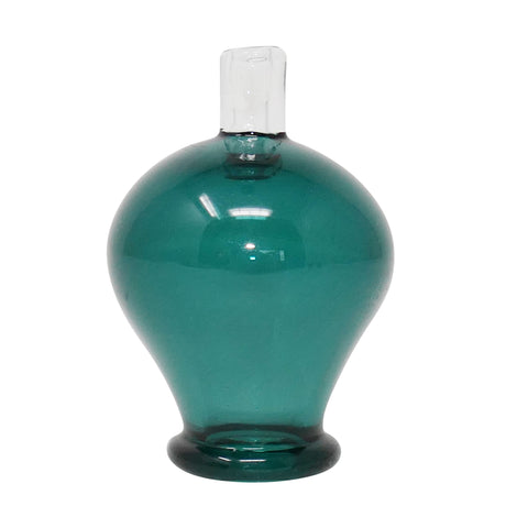 Copy of Glass Charlie Bubble Cap - Teal | Mary Jane Glass Co.