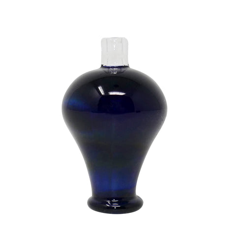 Glass Charlie Bubble Cap - Navy | Mary Jane Glass Co.