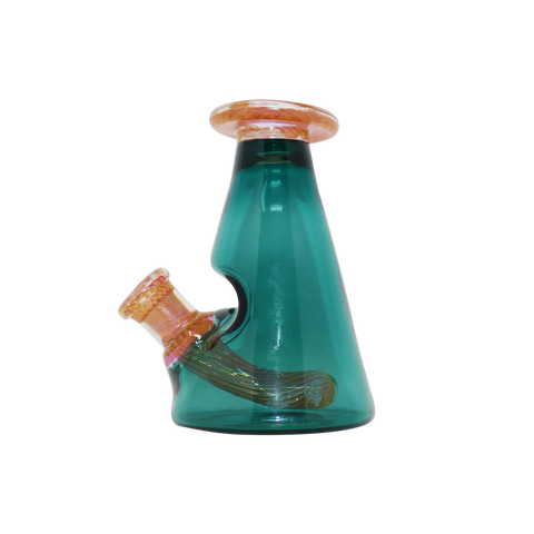 Mellow Glass - Mini Cone Rig - Teal