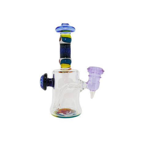 Chuck B Glass Worked Encalmo Rig - 14mm Female