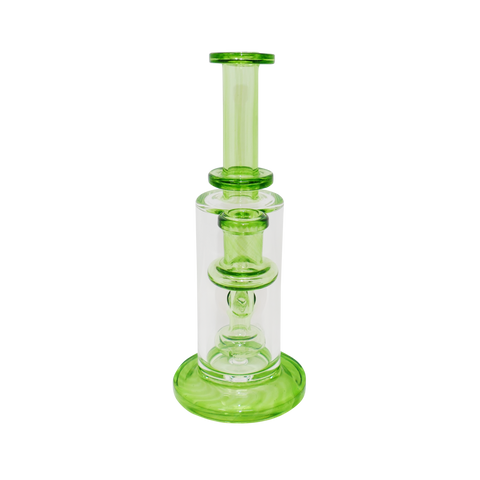 Fatboy Glass - Clear & Green - 14mm Female