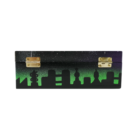 The Creature Emporium Rolling Box - Limited Edition City in Space (Green)
