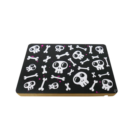 The Creature Emporium Limited Edition Hanging Rolling Tray - Skull 'N Bonez