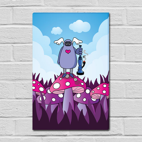 The Creature Emporium - Dab King - Limited Edition Mini Canvas Print